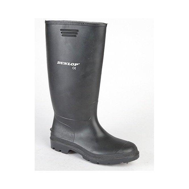 Dunlop Black Wellington Boots