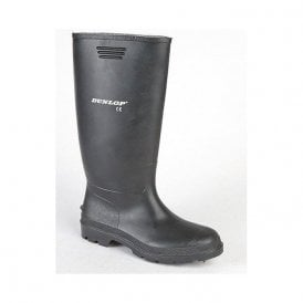 Black Wellington Boots