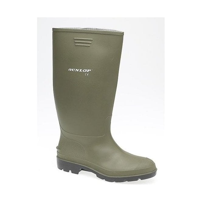 Dunlop Green Wellington Boots