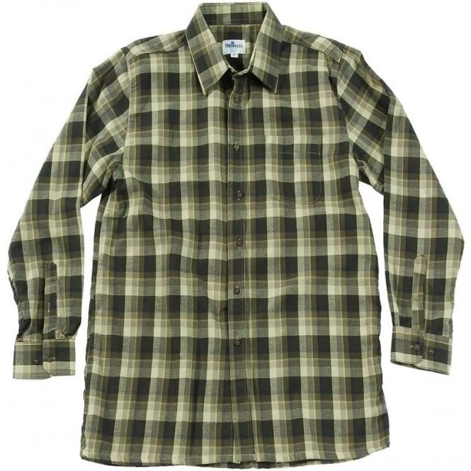 Fortress Brown Fakenham Checked Shirt