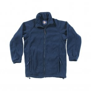 Navy Melrose Fleece