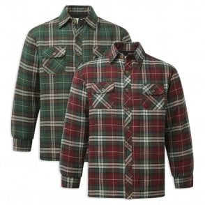 Neath Padded Quilt Lined Lumber Shirt