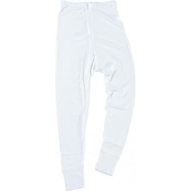 Fortress White Thermal Long Johns