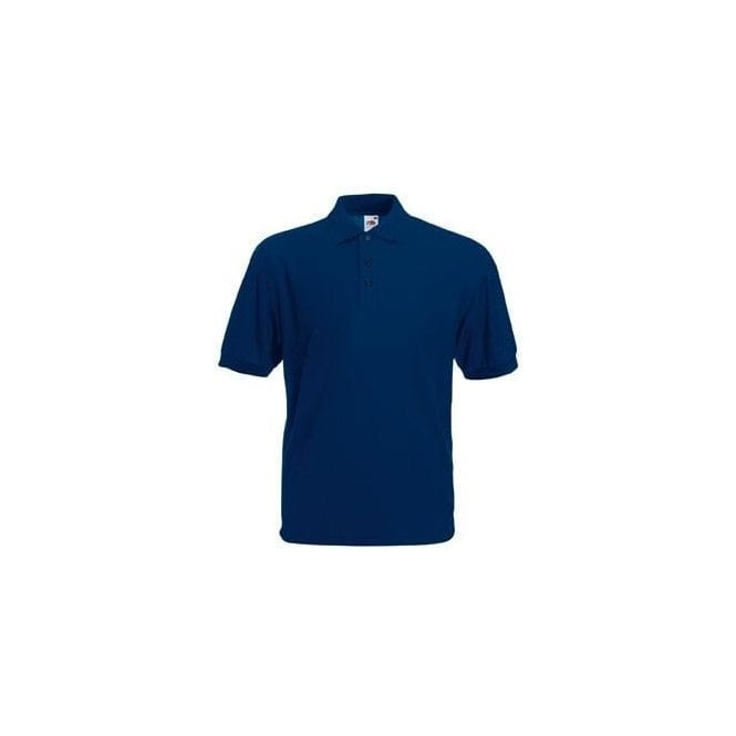 Fruit of the Loom Navy Standard 65/35 Polo Shirt