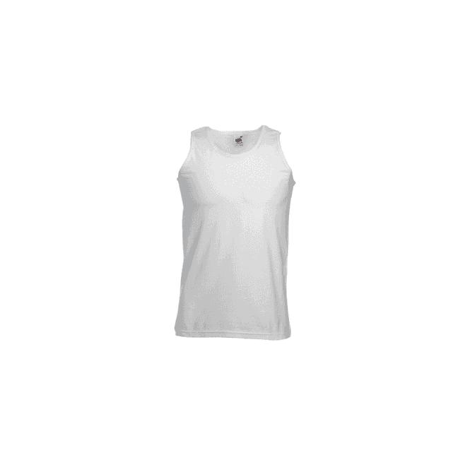 Fruit of the Loom White Athletic Vest/Singlet