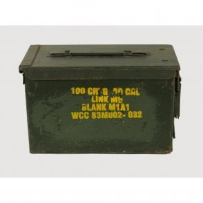 Genuine 50 Cal Calibre Ammo Box