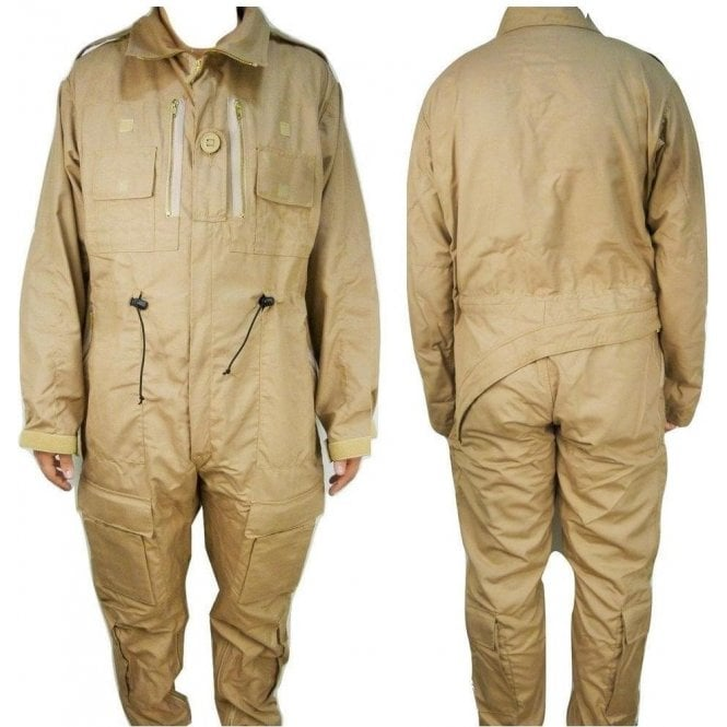 British Army Surplus Genuine British Army Surplus RAF Crewman AFV Coverall FR Beige