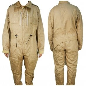 Genuine British Army Surplus RAF Crewman AFV Coverall FR Beige