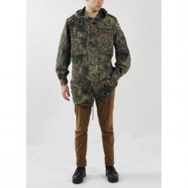 German Army Flecktarn Unlined Parker Coat