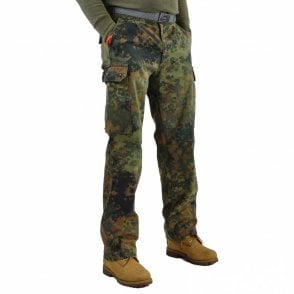 Genuine German Surplus Flecktarn Army Trousers