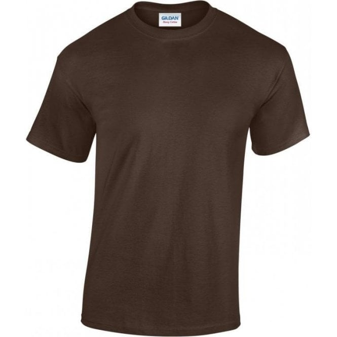 Gildan Brown Military T-shirt 185gsm