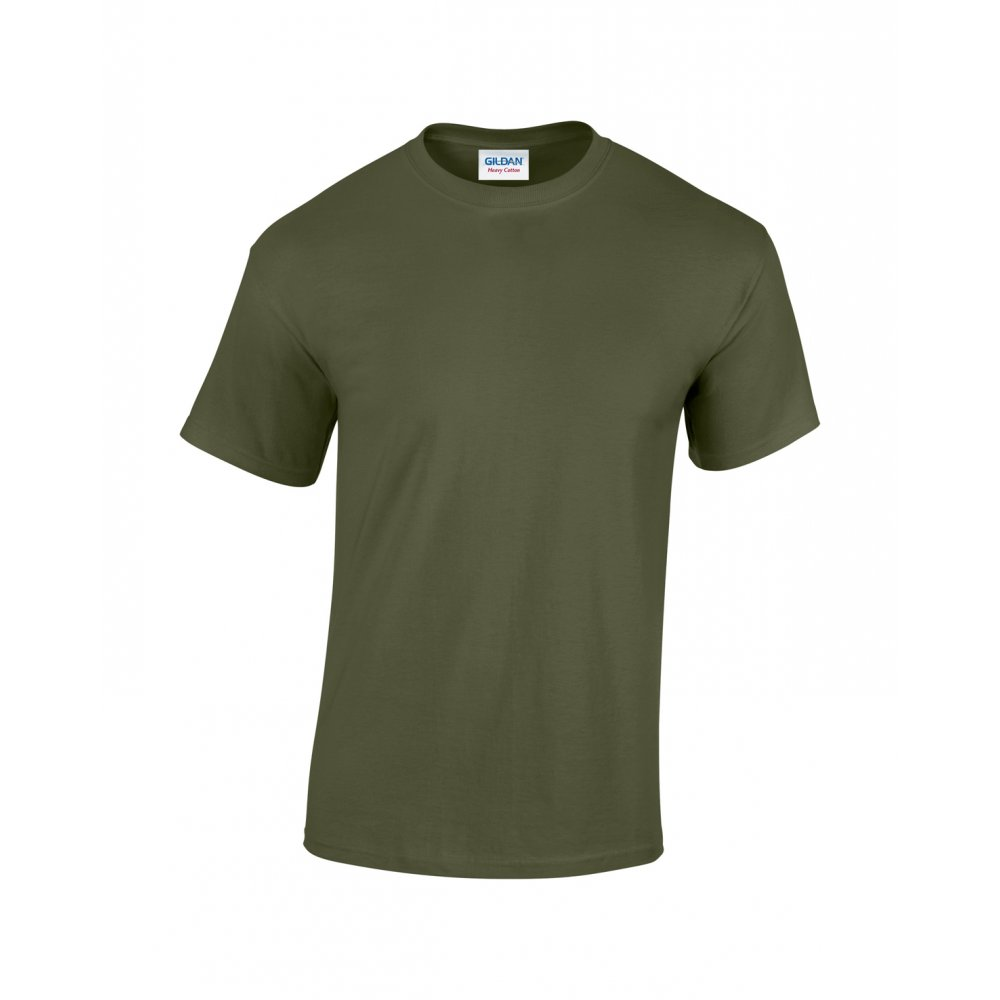 British Army Military Green T Shirt Army Cadet Heavy Cotton with Double Stitch