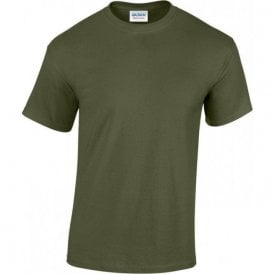 Olive Green Military T-shirt 185gsm