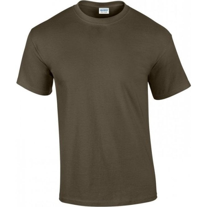 Gildan Olive Green Military T-shirt 200gsm