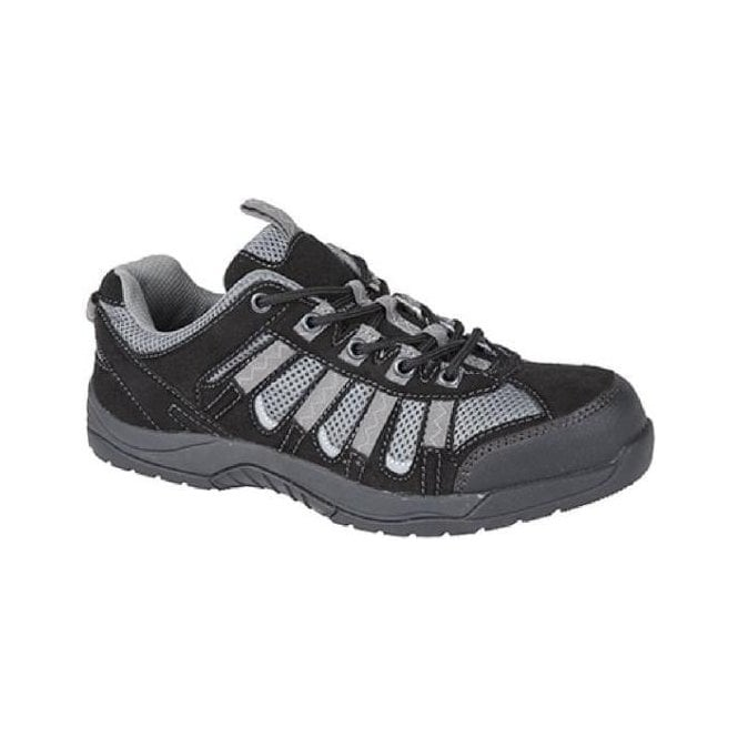Grafters Unisex Low Cut Slip Resistant Safety Trainer