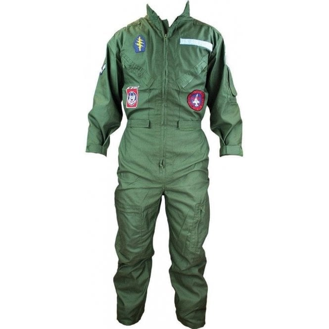 Highlander Adult Replica Flying Suit With Badges