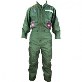 cef20a412607d Olive Green · Adult Replica Flying Suit With Badges