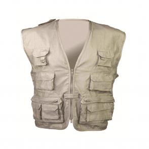 Beige Multi-Purpose Waistcoat