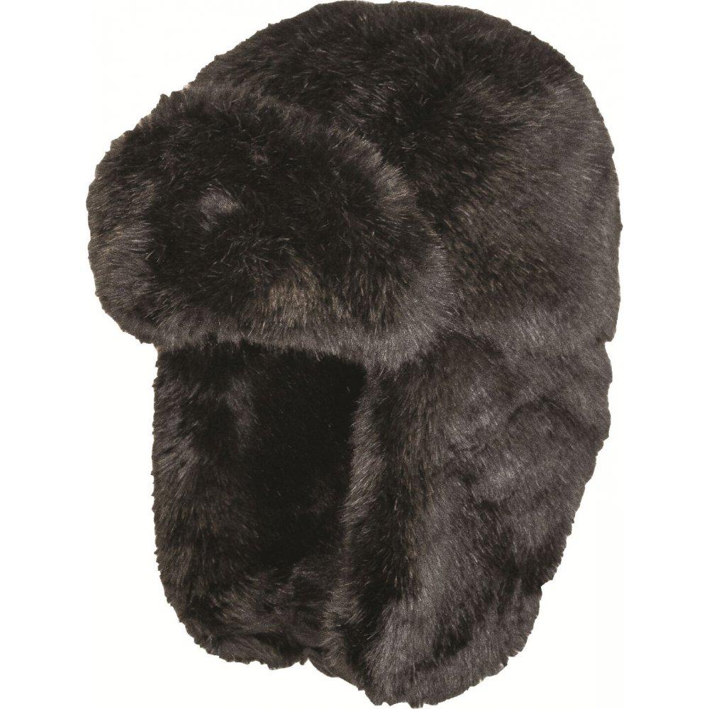 Black Faux Fur Cossack Hat  75b26388fb6