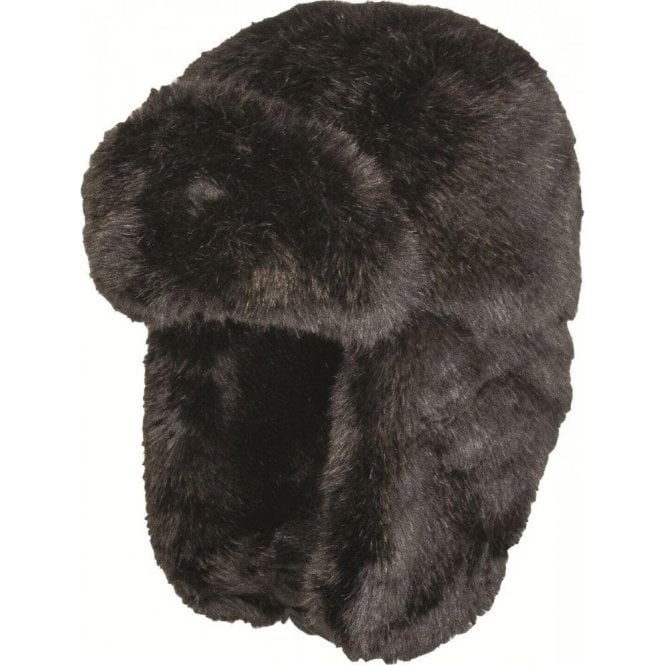 Highlander Black Faux Fur Cossack Hat