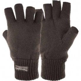 Fingerless Thinsulate Gloves/Mitts Black