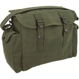Heavy Duty Haversack Olive Green