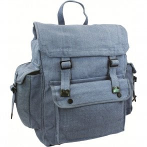 Large Web Backpack with pocket