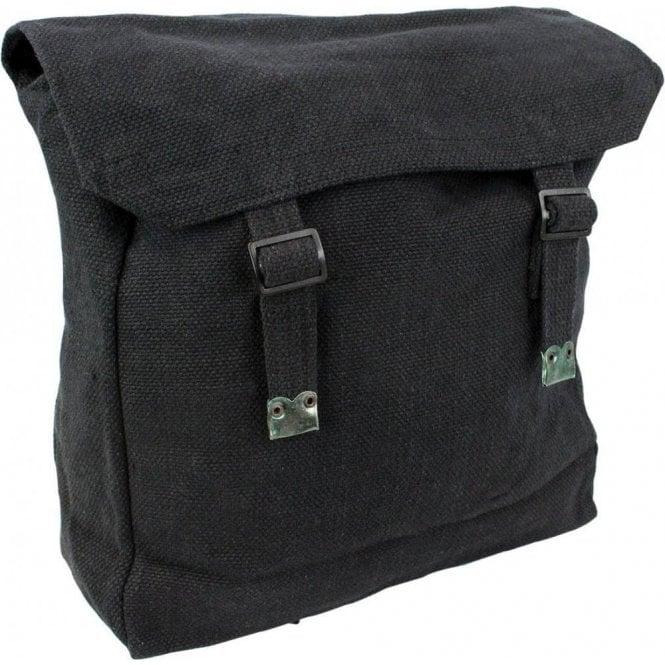 Highlander Large Webbing Backpack Black