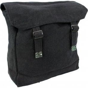 Large Webbing Backpack Black