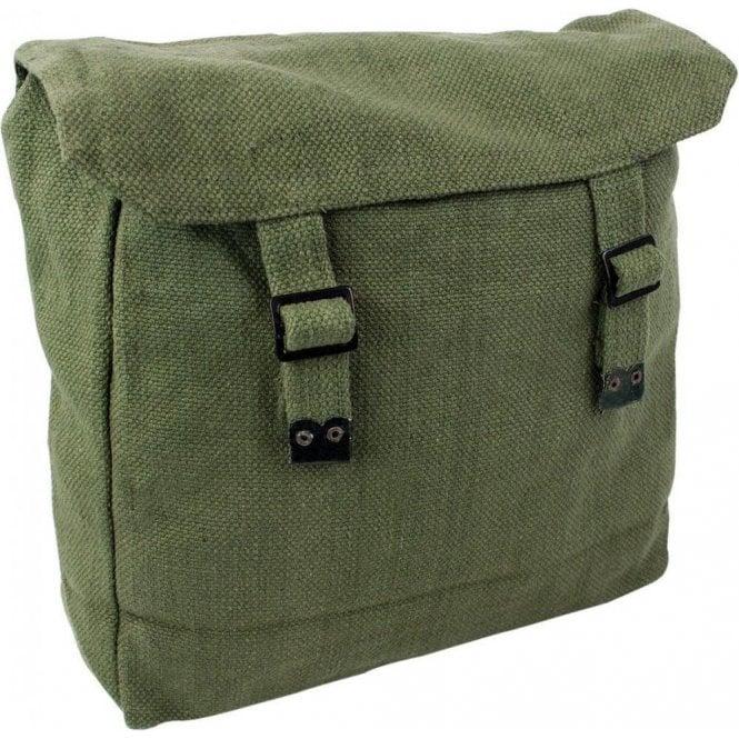Highlander Large Webbing Backpack Olive Green