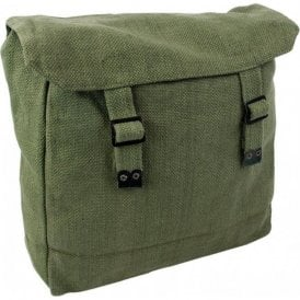 Large Webbing Backpack Olive Green