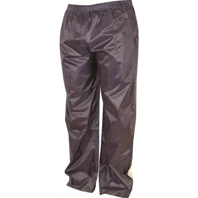 Highlander Navy Stormguard Packaway Waterproof Trousers