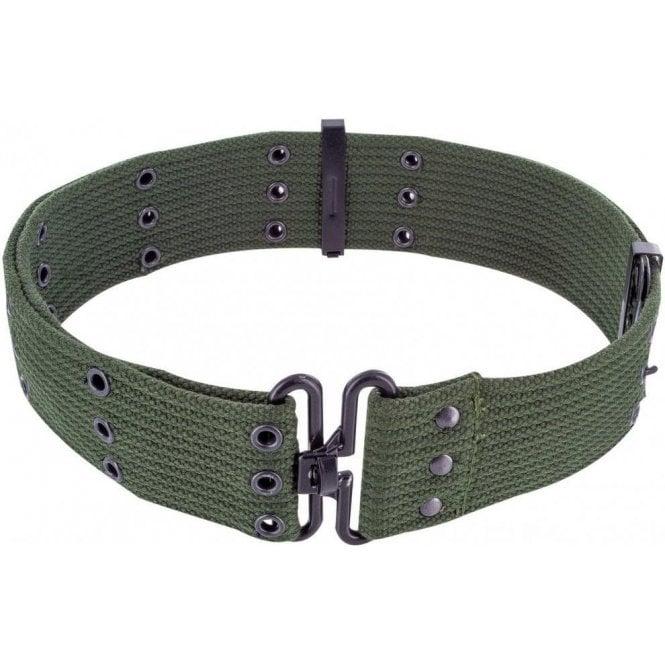 Highlander Olive Green GI Style Cotton Pistol Belt
