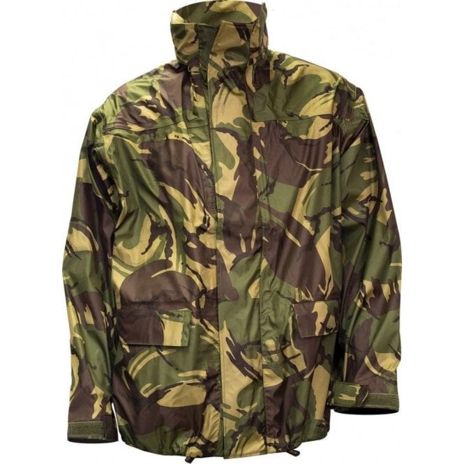 Highlander Pro-Force Tempest Woodland DPM Waterproof Jacket