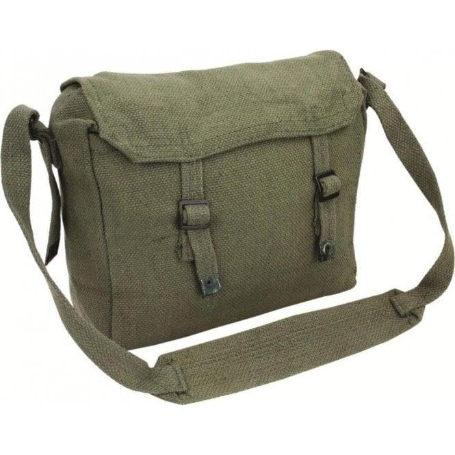 Highlander Webbing Side Bag Olive Green