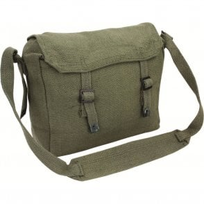 Webbing Side Bag Olive Green