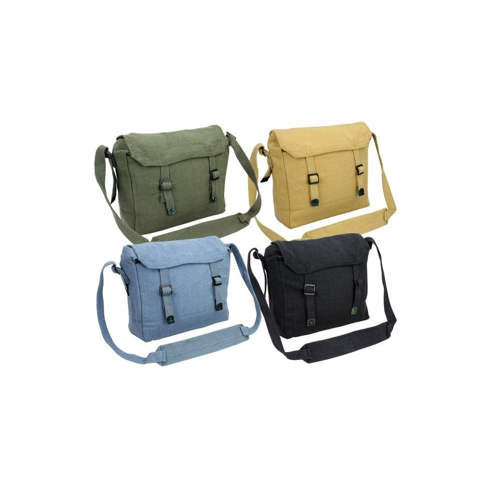 Olive Green Webbing Side Bag  b6594e4d9c21c
