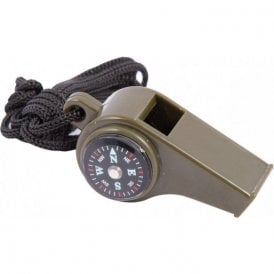 3 in 1 Survival Whistle with Compass & Temperature