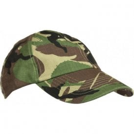 Adult Woodland Camo Baseball Cap