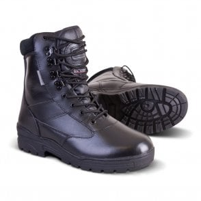 All Leather Patrol Boot