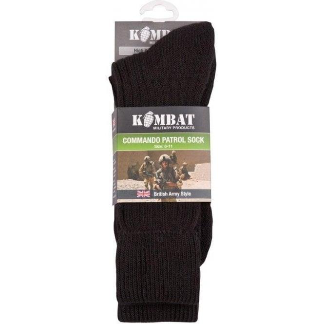 Kombat Army Patrol Socks Black