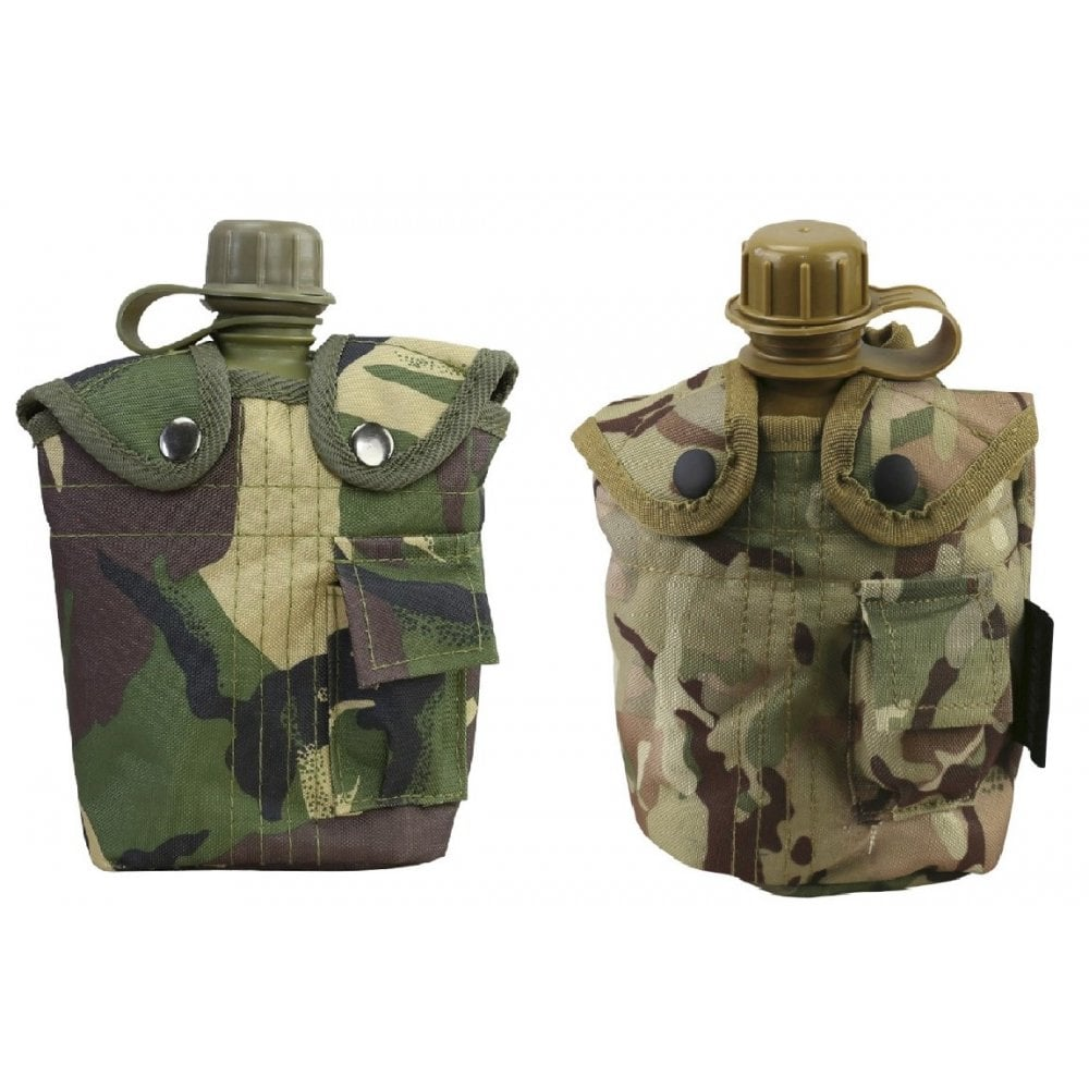 Image result for Military Water Canteen with Pouch