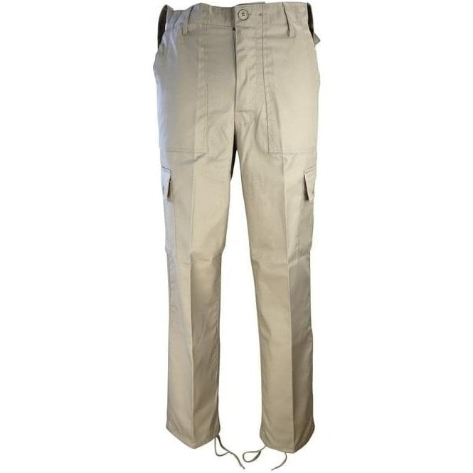 Kombat Beige Military Style Combat Trouser