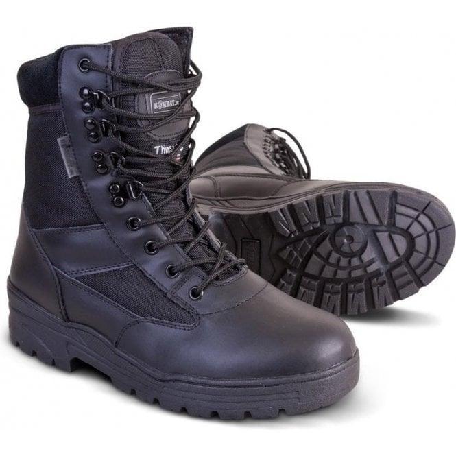 Kombat Black 50/50 PATROL BOOTS