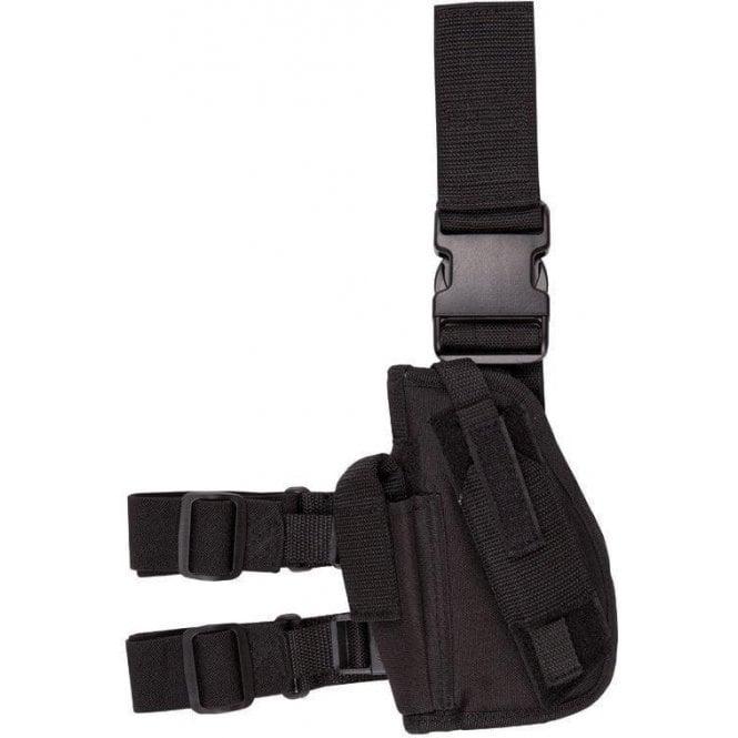Kombat Black Tactical Gun Leg Holster