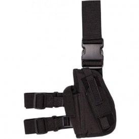 Black Tactical Gun Leg Holster
