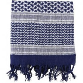 Blue/White Shemagh Scarf
