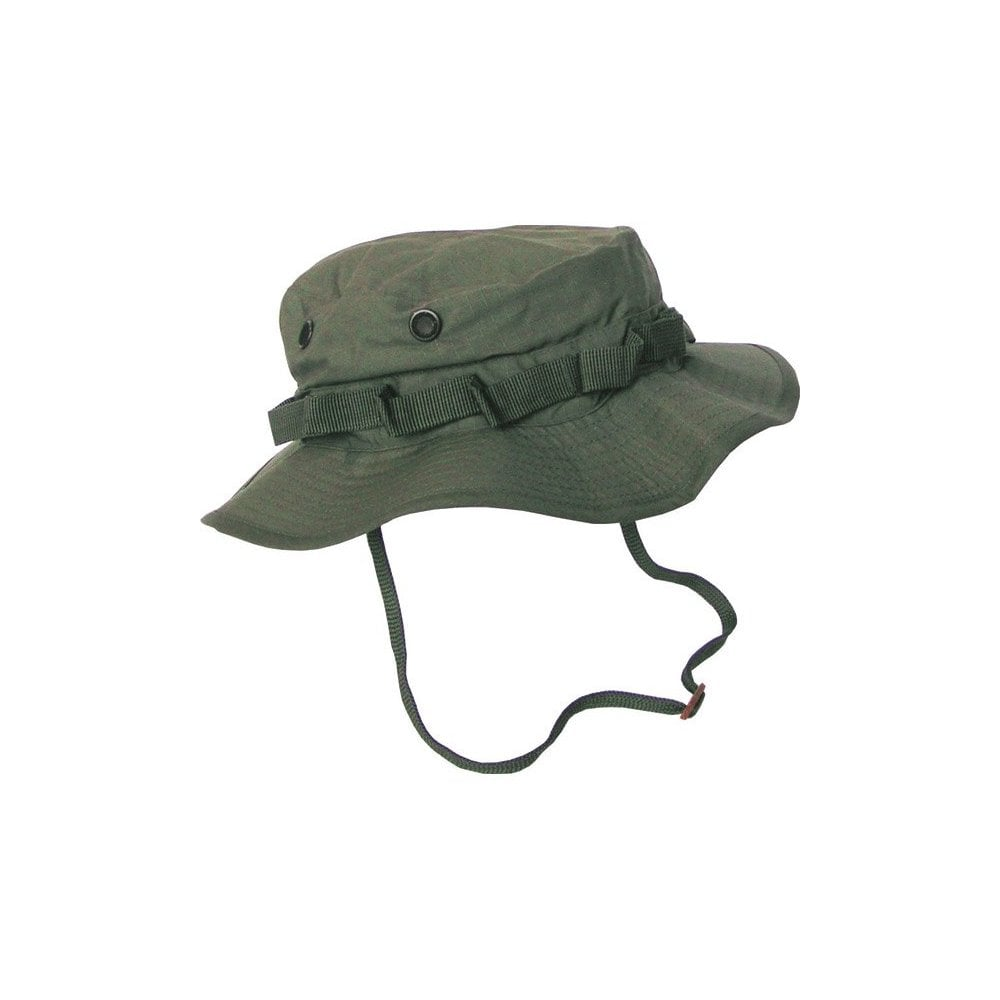 Kombat Boonie Hat - US Style Jungle Hat - Olive Green - Army ... e9c4c6c0dc4