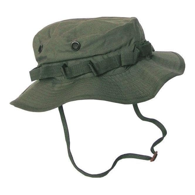 Kombat Boonie Hat - US Style Jungle Hat - Olive Green