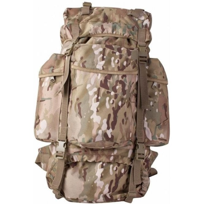 Kombat British Military Army US Molle Backpack Tactical Assault Combat Rucksack Bergen Pack 60L UTP Bag